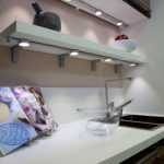 Slideline undercabinet application in a kitchen.