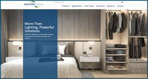 Specialty Lighting's New Website Spotlights UX (VMSD)