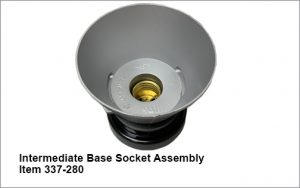 Fully assembled intermediate base socket assembly for item 337 dash 280.