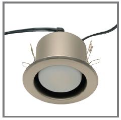 Installation Instructions – spring clip downlight
