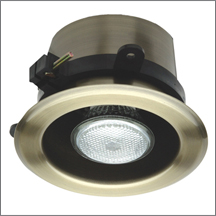 classic flanged downlight