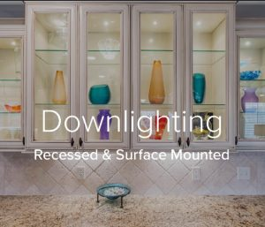 Downlighting | Recessed or Surface Mounted