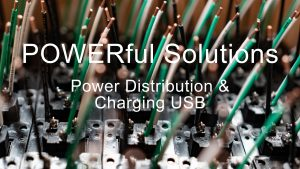 POWERful Solutions